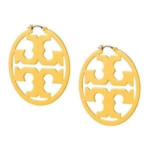Nwot Tory Burch Miller gold earrings